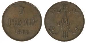5-пенни.-1888-год.